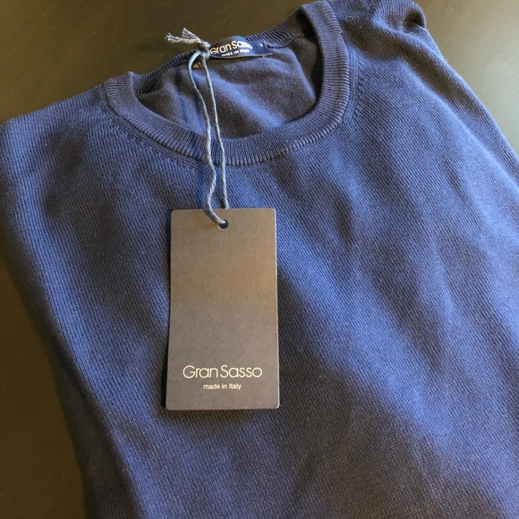 Gran Sasso Other - Gran Sasso Crewneck Sweater 56
